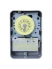 Intermatic T105 - 24 Hr. Dial Time Switch - NEMA 1 Indoor Steel Case - Gray Finish - 1N0/1NC - 40 Amps - 125 Vol